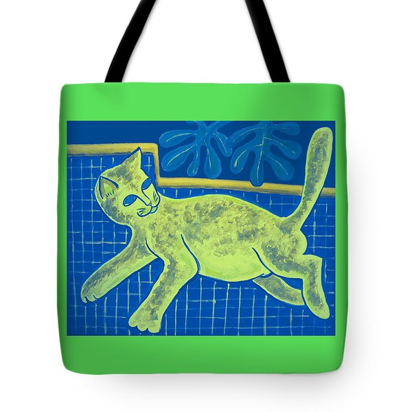 Matisse's Cat In Reverse Tote Bag