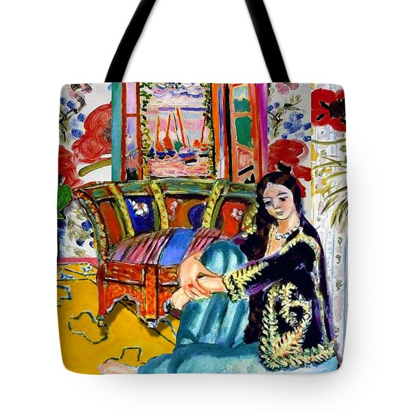 Matisse's Open Room Tote Bag
