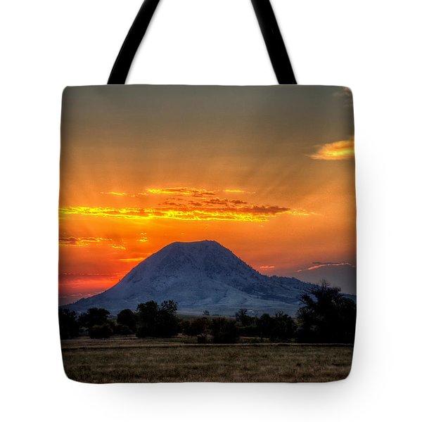 Mato Paha, The Sacred Mountain Tote Bag
