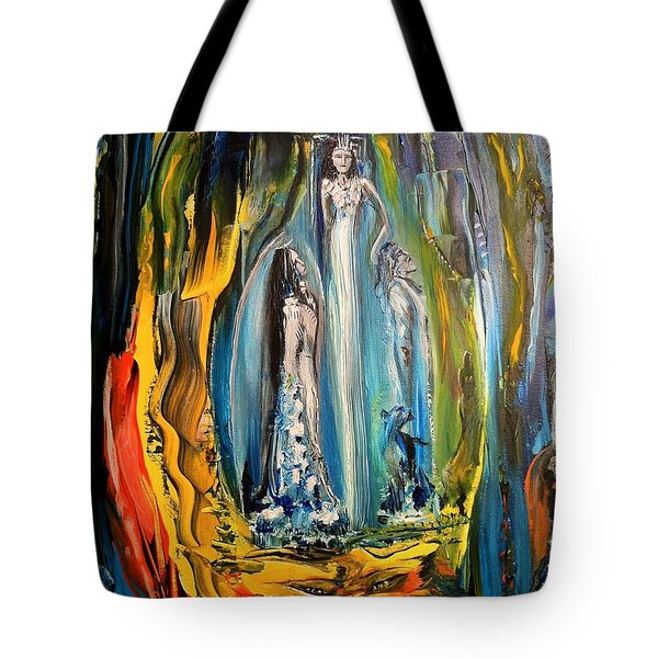 Liquid Matrimony For Life Tote Bag