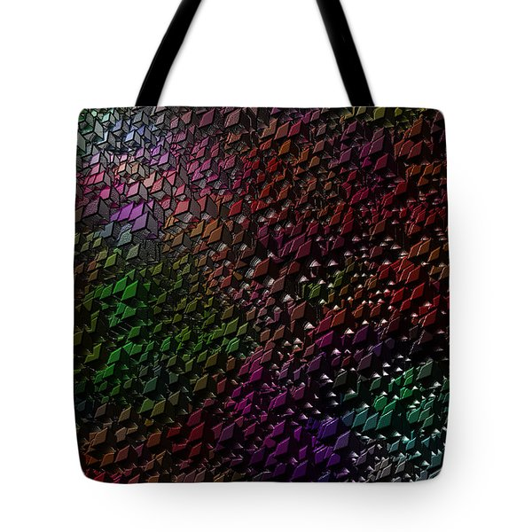 Tote Bag featuring the digital art Matrizzavano by Jeff Iverson