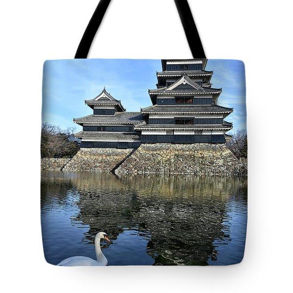 Matsumoto Swan Tote Bag