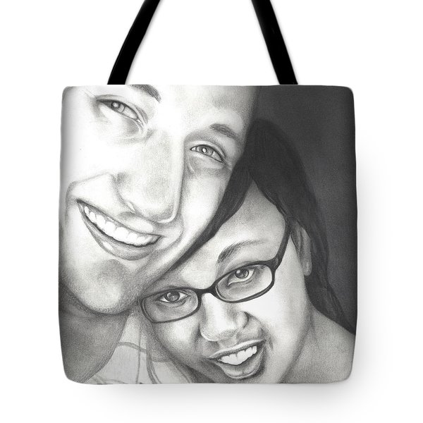 Matt And Jasmine Tote Bag