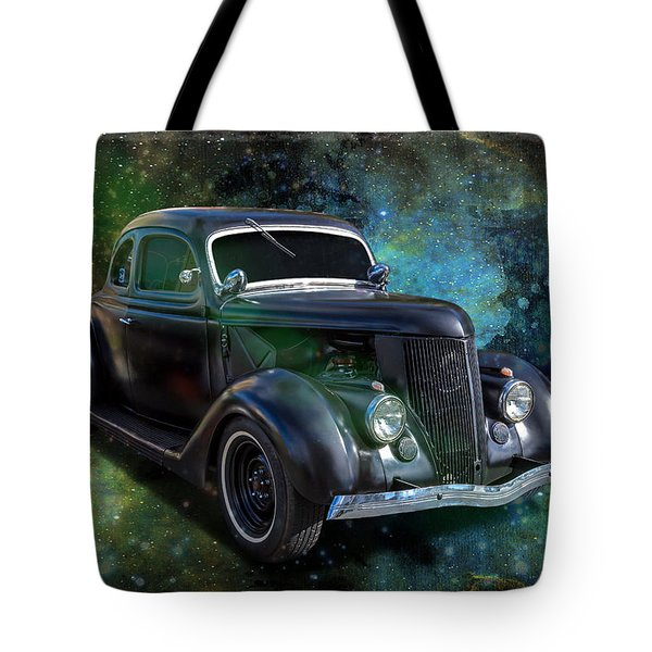 Matt Black Coupe Tote Bag