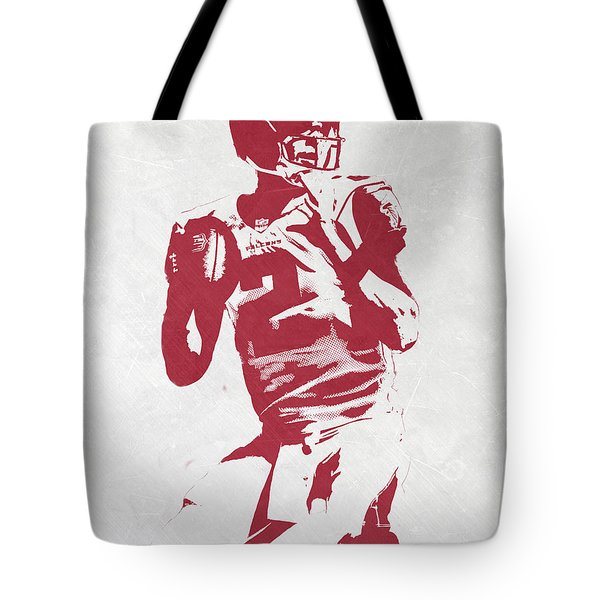 Matt Ryan Atlanta Falcons Pixel Art 2 Tote Bag