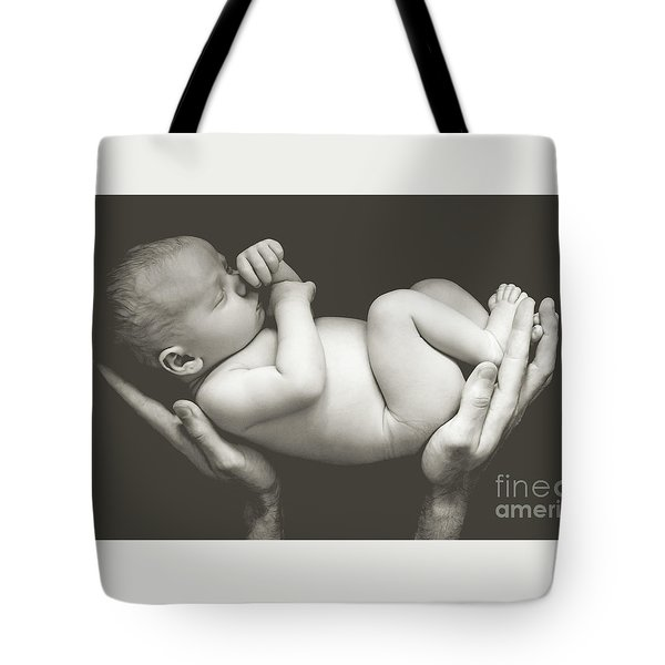 Matte Baby Art Tote Bag
