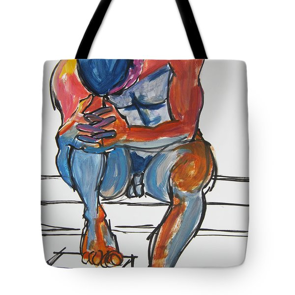 Matthew Deep In Thought Tote Bag