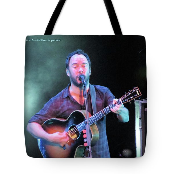 Tote Bag featuring the photograph Matthews For President by Aaron Martens