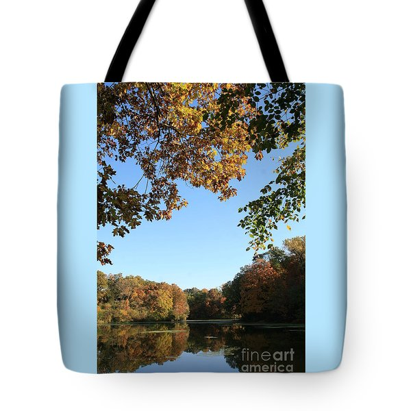 Matthiessen Lake In Autumn Tote Bag