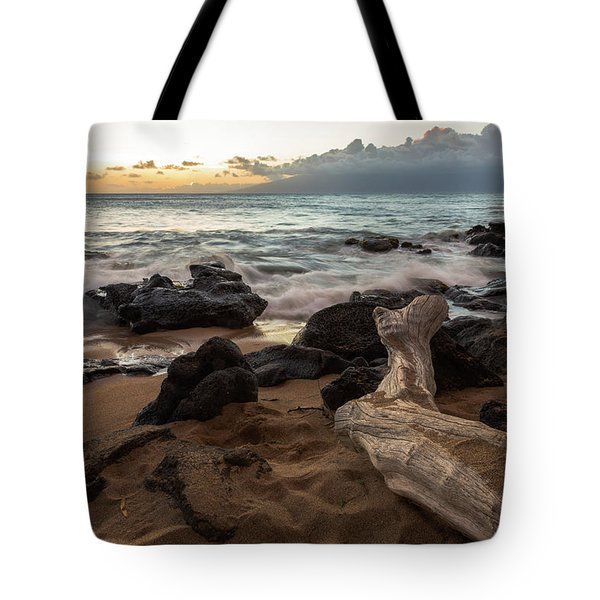 Maui Beach Sunset Tote Bag