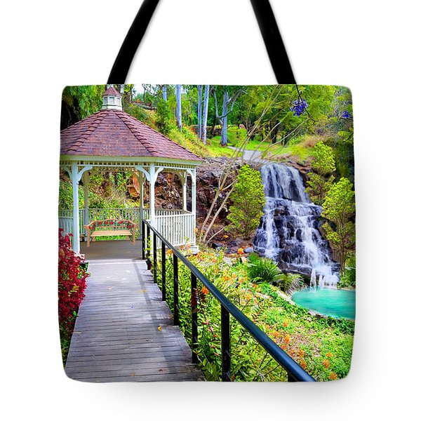 Maui Botanical Garden Tote Bag by Michael Rucker