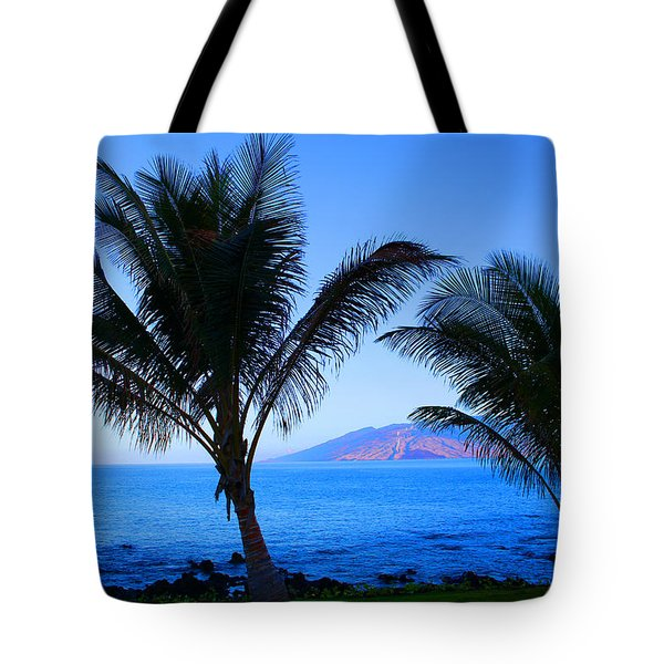 Maui Coastline Tote Bag