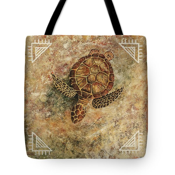 Tote Bag featuring the painting Maui Honu by Darice Machel McGuire