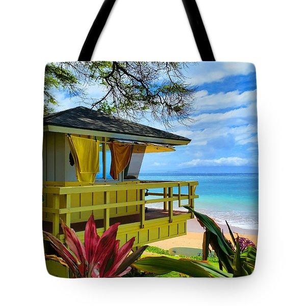 Maui Kamaole Beach Tote Bag by Michael Rucker