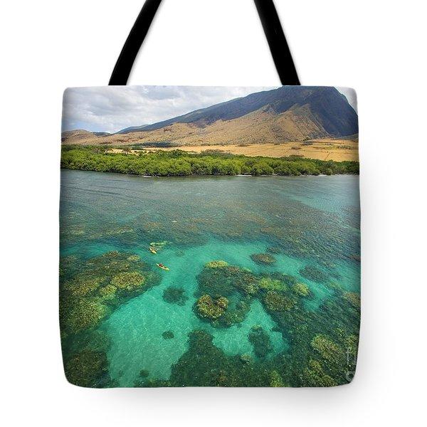 Maui Landscape Tote Bag by Ron Dahlquist - Printscapes