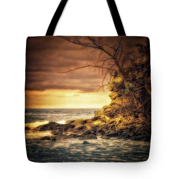 Maui Ocean Point Tote Bag