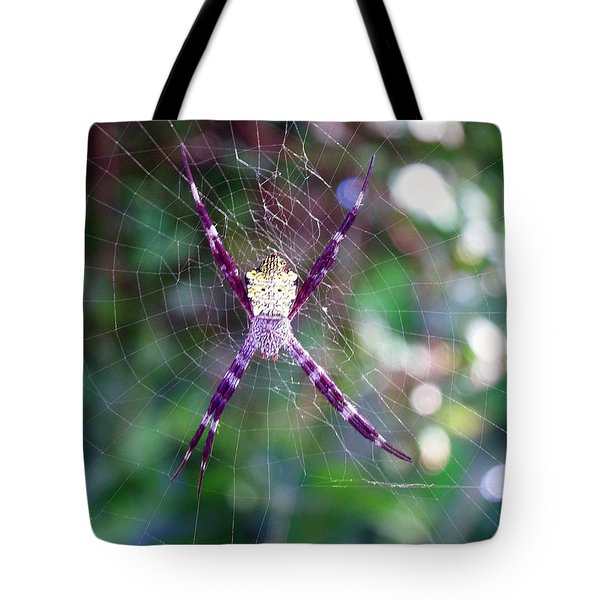 Maui Orbweaver/garden Spider Tote Bag
