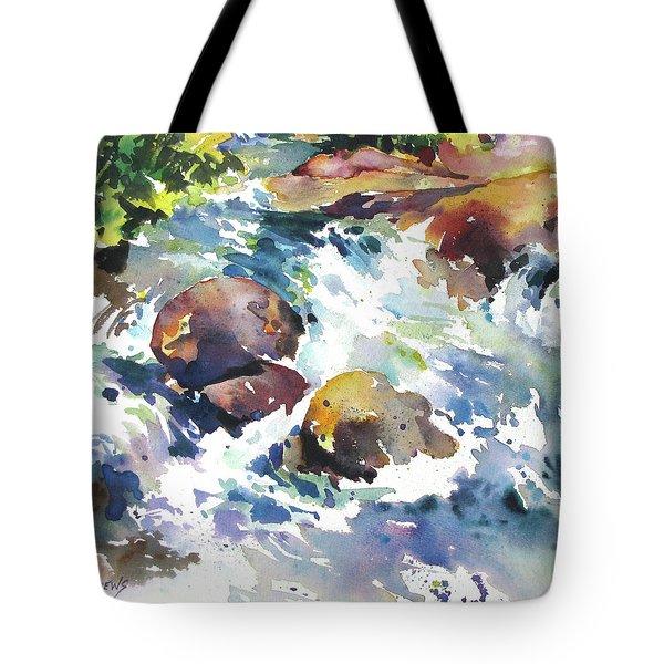 Maui Rapids Tote Bag