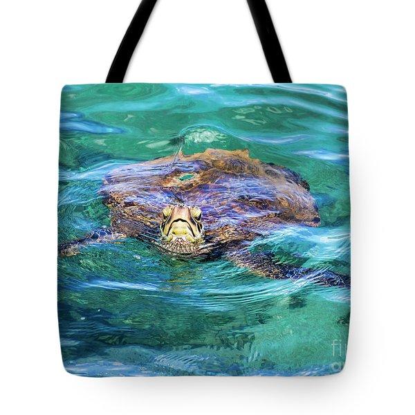 Maui Sea Turtle Tote Bag