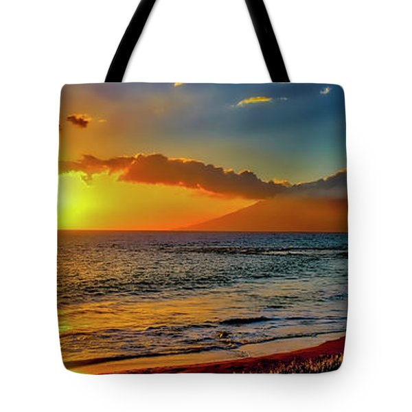 Maui Wedding Beach Sunset  Tote Bag