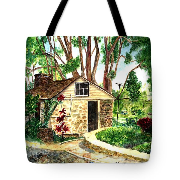 Maui Winery Tote Bag by Eric Samuelson