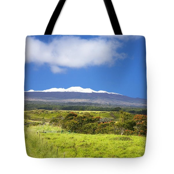 Mauna Kea Tote Bag by Peter French - Printscapes