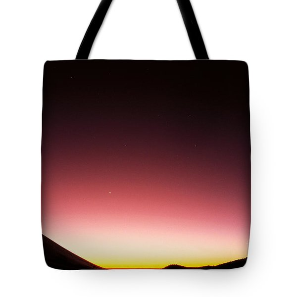 Mauna Kea, Summit Tote Bag by Mary Van de Ven - Printscapes