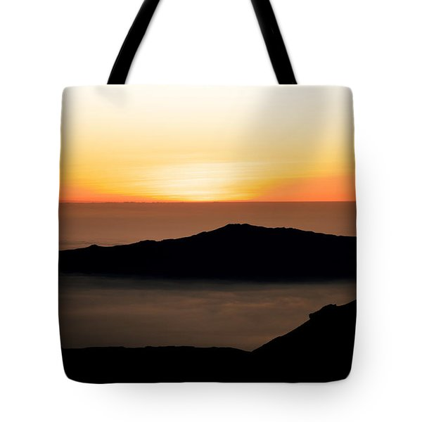 Mauna Kea Sunset Tote Bag