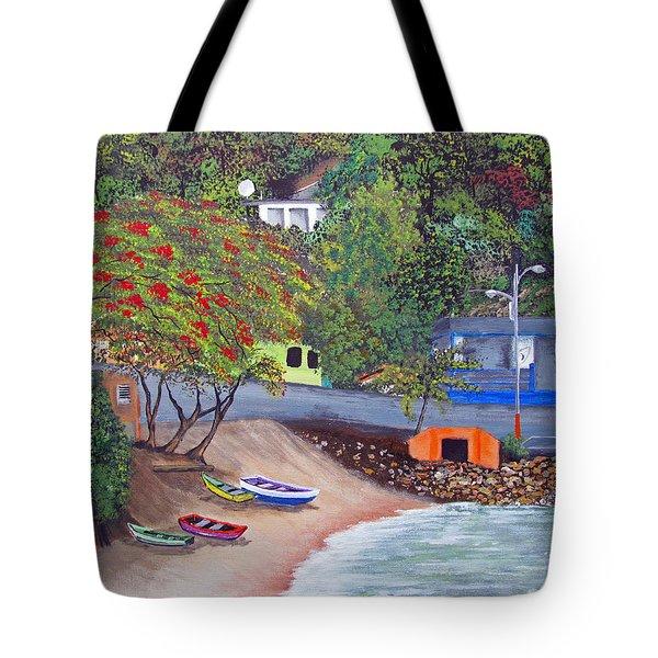 Maunabo Pescaderia Tote Bag
