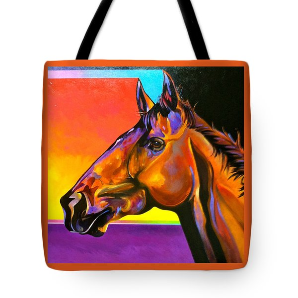 Tote Bag featuring the painting Maurice by Bob Coonts