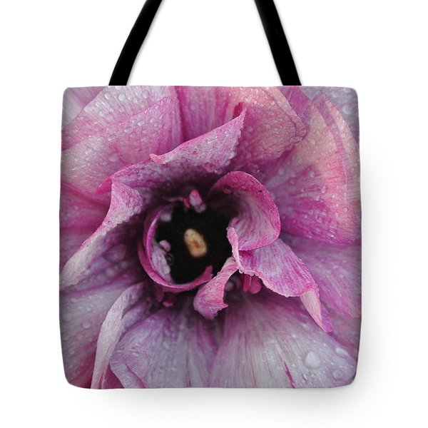 Tote Bag featuring the photograph Mauve Beauty by Tamara Bettencourt