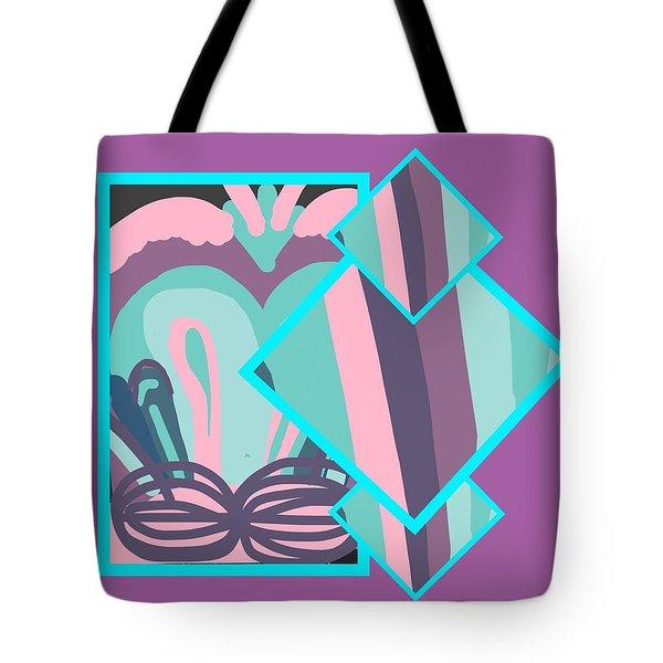 Mauve In Jazz Tote Bag
