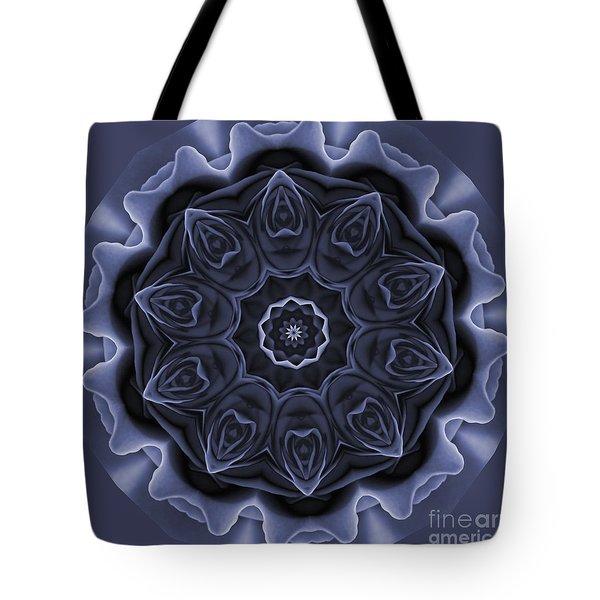 Mauve Rose Mandala Tote Bag