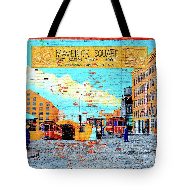 Maverick Square 1904 Tote Bag