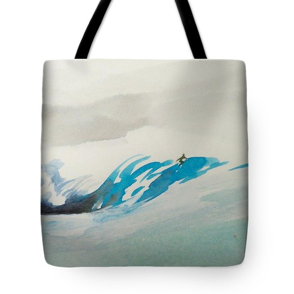 Mavericks Tote Bag by Ed Heaton