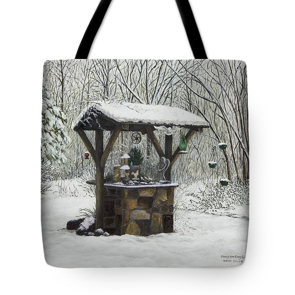 Mavis' Well Tote Bag by Mary Ann King