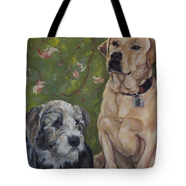 Max And Molly Tote Bag