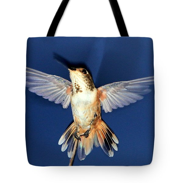 Max, Flashed Tote Bag