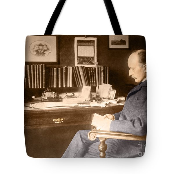Max Planck, German Physicist Tote Bag by Science Source