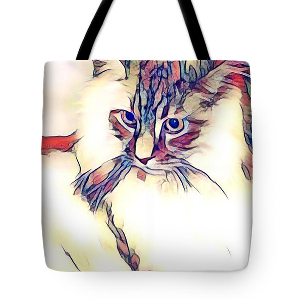 Max The Cat Tote Bag