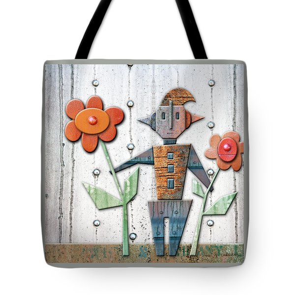 Max The God Of May Tote Bag by Joan Ladendorf
