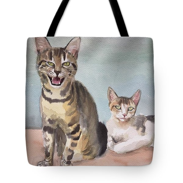 Maxi And Girlfriend Tote Bag