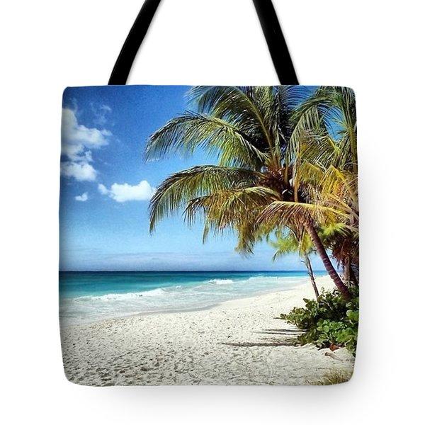 Maxwell Beach Barbados Tote Bag