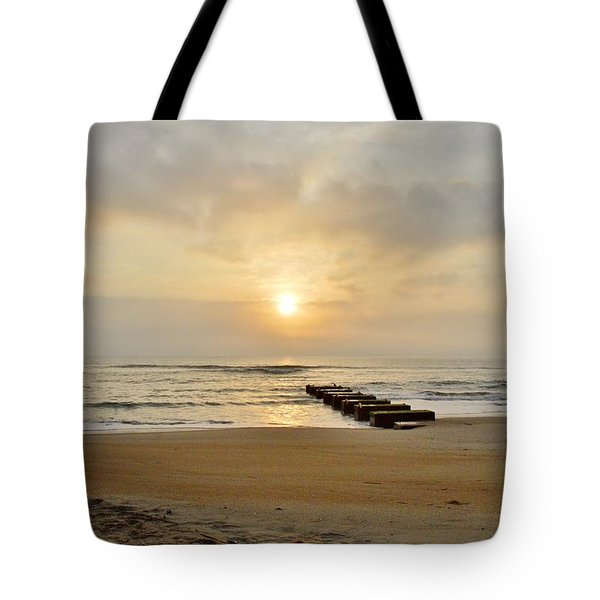 May 13 Obx Sunrise Tote Bag