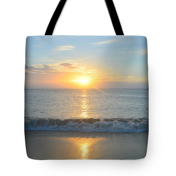 Tote Bag featuring the photograph May 23 Sunrise by Barbara Ann Bell