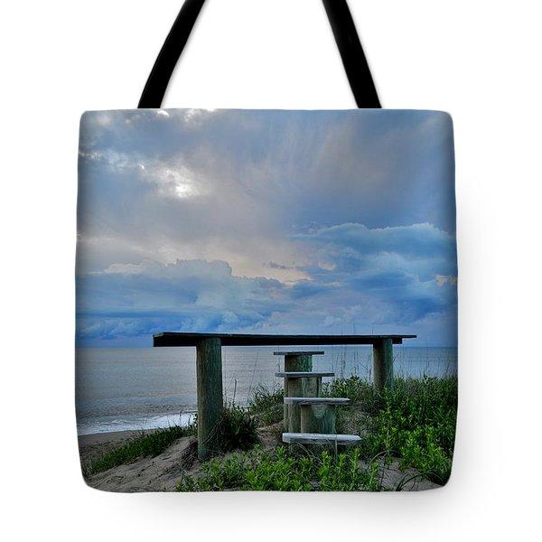 May 7th Sunrise Tote Bag