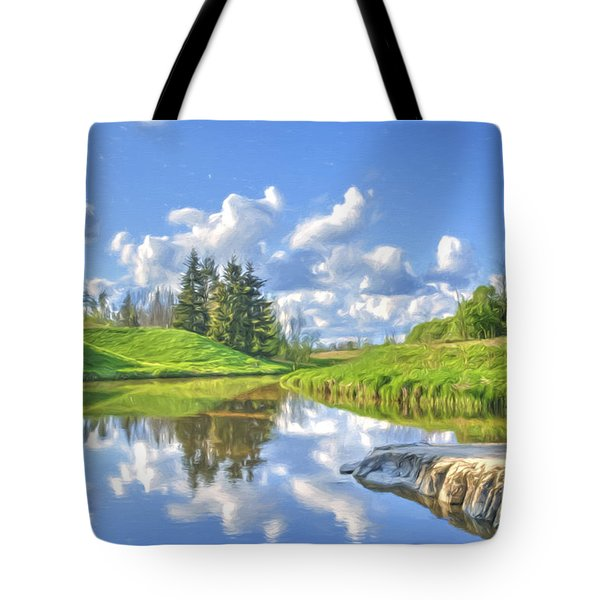 May Afternoon Tote Bag