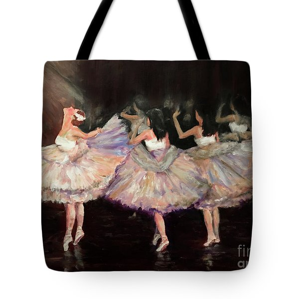 May Ballet Recital Tote Bag