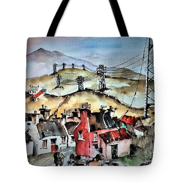 F 723 And Now For Fibre Optic B And B Tote Bag