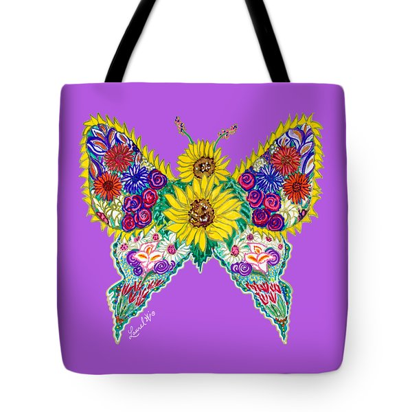 May Butterfly Tote Bag